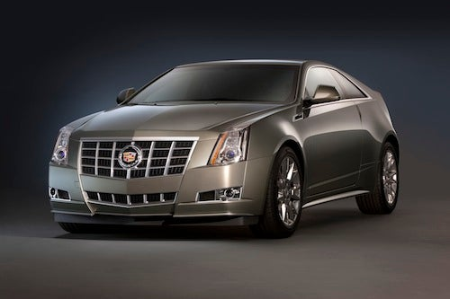 2012 Cadillac CTS gets new grille, 14 extra horses and kills a manual