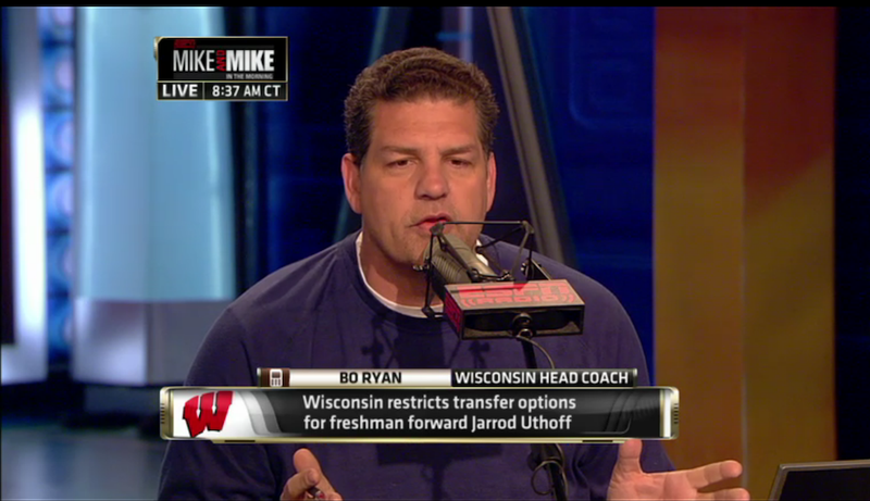"""How Did Mike and Mike Land That Bo Ryan Interview? """"Dogged Leg Work"""""""
