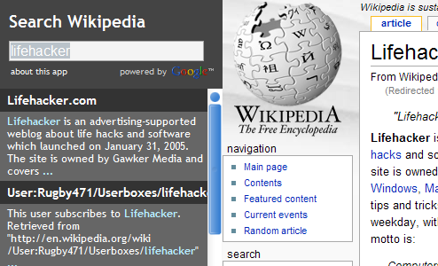 Search Wikipedia Faster As-You-Type