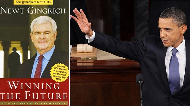 Barack Obama Stole His Empty State of the Union Slogan From Newt Gingrich