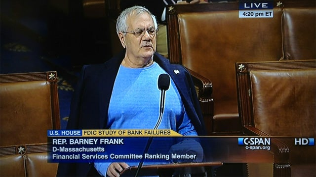 Barney Frank Has Liberated His Man Boobs