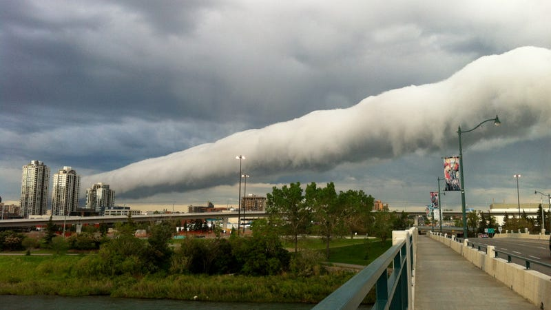 An Ominous Cloud That Literally Rolls In