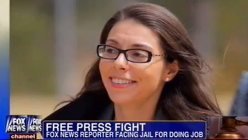 Here Is a Fox News Reporter Who Doesn't Belong In Jail