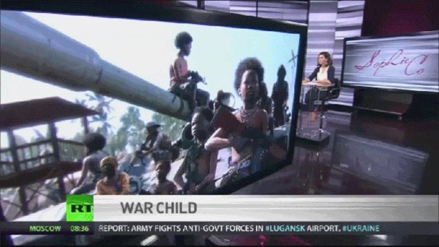 News Station Uses Metal Gear Solid V Pic For Report On Child Soldiers