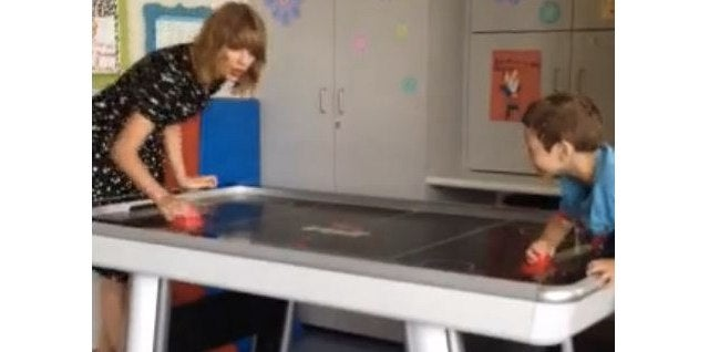 Taylor Swift Visits Young Cancer Patient, Drowns You in Your Own Tears