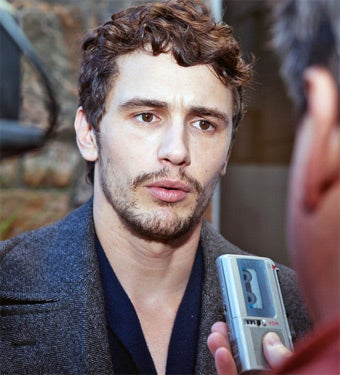 The Night James Franco Threw a Phone