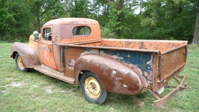 Rare and original 1947 Hudson truck for sale on Ebay