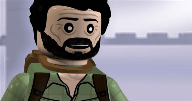 Here Is Joel From The Last of Us Doing The Banderas... As A LEGO