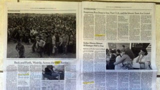 Sunday New York Times MINISPLAINER: Islamic State a/k/a ISIS, ISIL