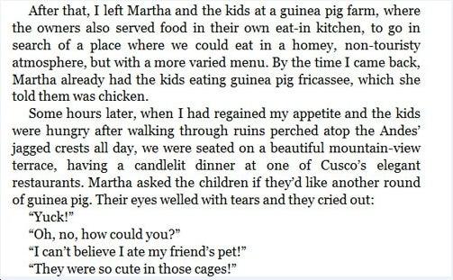Martha Stewart: Road-Raging Guinea Pig Eater