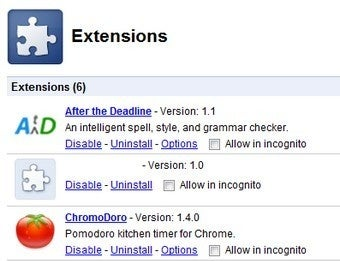 Extension Syncing Coming to Google Chrome