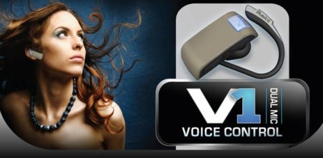 BlueAnt V1 Bluetooth Headset First Ever With True Voice User Interface