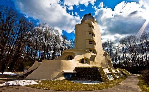 Potsdam's Einstein Tower is an earthbound space oddity