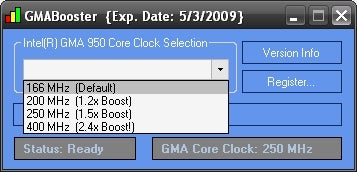GMABooster Squeezes 22% Performance Gain From Lousy Netbook Graphics