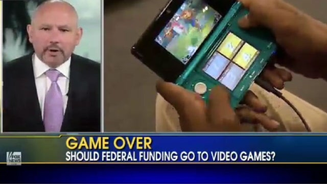 Fox News Debate of Federal Funding for Games Goes About Like You'd Expect