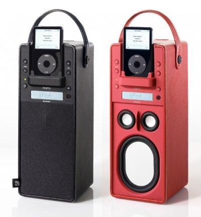 iPod Systems Grow Up: Audio Pro Porto Stands Tall