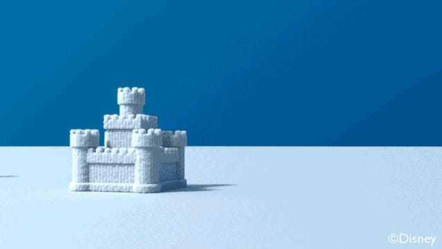 Disney's Computer-Simulated Snow Basically Looks Real
