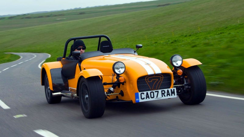 A stripped-down Caterham for corner carvers on a budget
