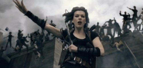 3 new Resident Evil: Afterlife clips make good use of their new 3D powers