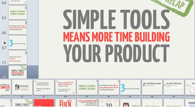 A Non-Designer's Guide to Making Attractive Presentation Slides