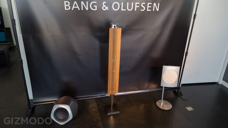 B&O's First High-End Wireless Speakers Pay Tribute to Its Past