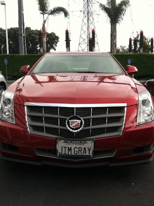 Does Jim Gray Drive A Car With A Jim Gray License Plate? Jim Gray Won't Say.