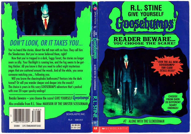 Classic Video Games Reimagined As R.L. Stine Goosebumps Books