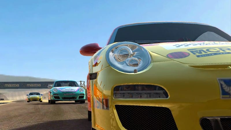 Why It Doesn't Matter If This Incredible Looking Racing Game Is on an iPhone