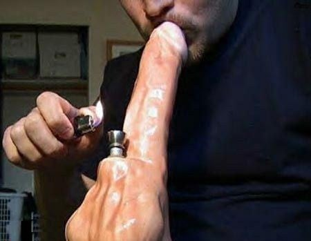 Suck Your Own Cock With Pipe 34