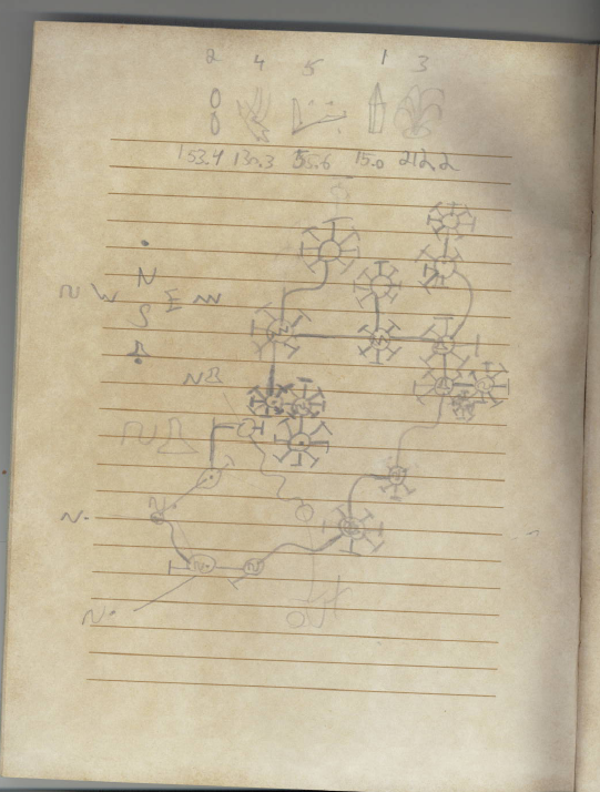 """When I Was A Teenager, I Kept This Myst """"Journal"""""""