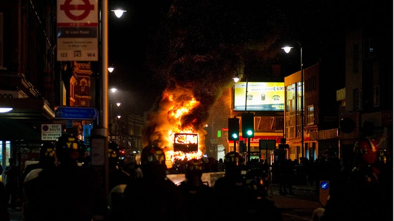 Riots Erupt in London