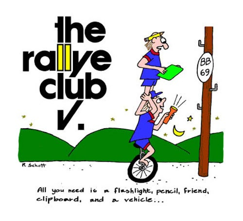 Longest Distance Between Two Points? Road Rallye!