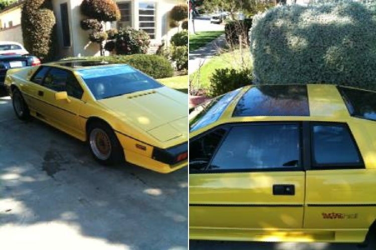 For $12,000, This Esprit Is Not So Mellow Yellow