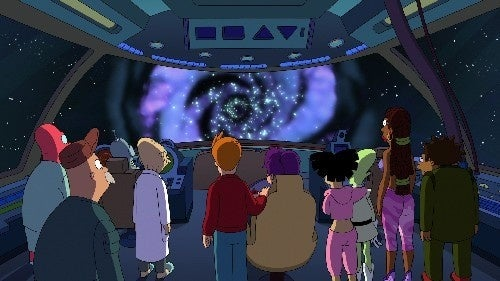We've seen the first two episodes of Futurama season six...