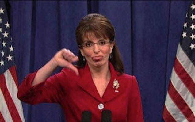 Palin Hated Looking Dumb on SNL, Doesn't Mind the Rest of the Time
