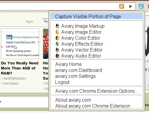 Aviary Extension Brings Snappy Web Image Editing to Chrome