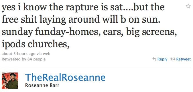 How Celebrities Are Preparing For The Rapture