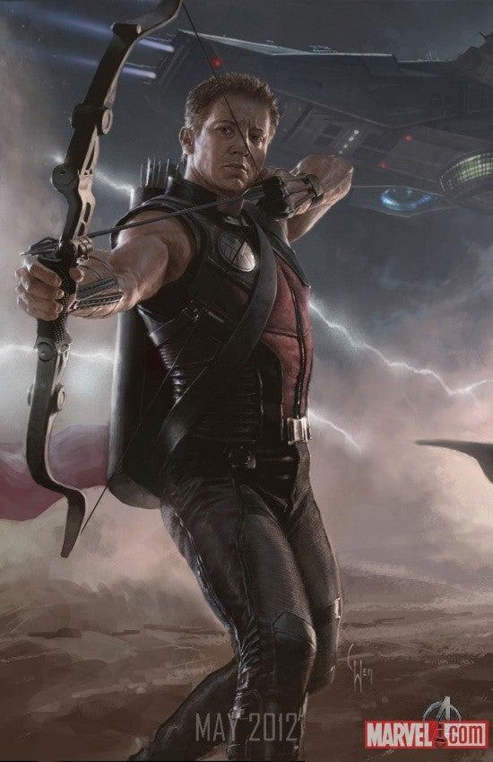 The Avengers concept art!