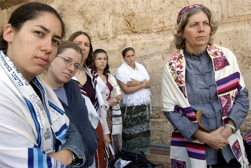 Israeli Woman Arrested For Praying At The Western Wall