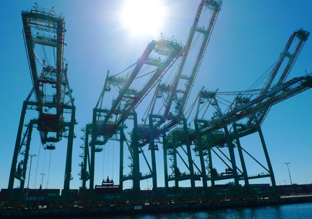 A Tour of the World's Most Futuristic Port