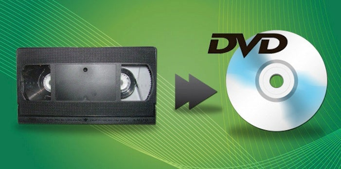 Convert and Preserve Your VHS Tapes to Digital & DVDs