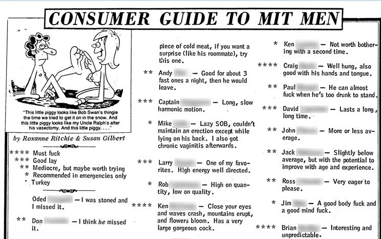 "Here's The Highly Amusing MIT ""Fuck List"""
