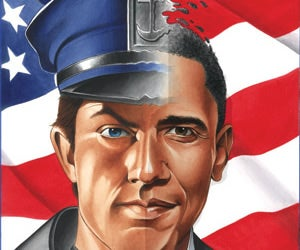 Obama's New Comic Book Gig: Facing Alien Death Panels