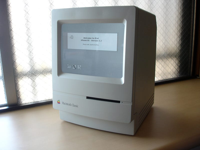 This Macintosh Is Really an iPad