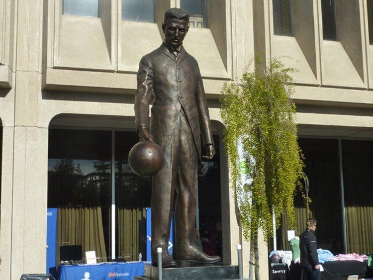 This Week in Time Capsules: Nikola Tesla Statue Rises in Silicon Valley