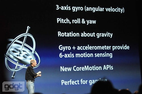 The iPhone 4 Supports 3D Motion Gaming