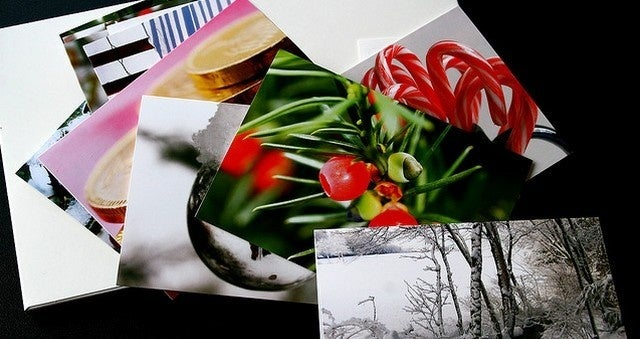 Upcycle Your Christmas Cards into Postcards