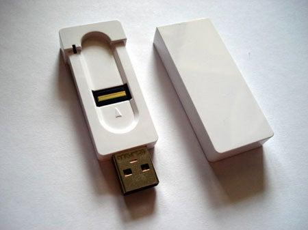 A-Data FP1 Finger Scanning USB Drive