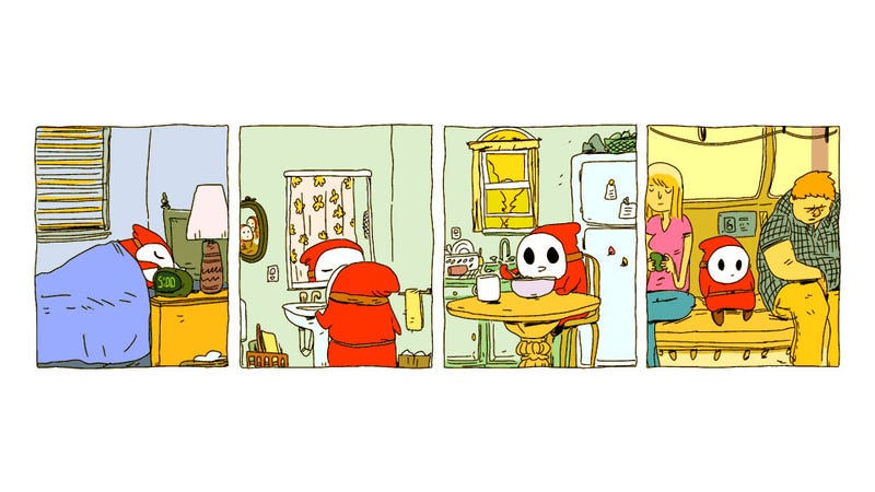 A Day In the Life of a Shy Guy