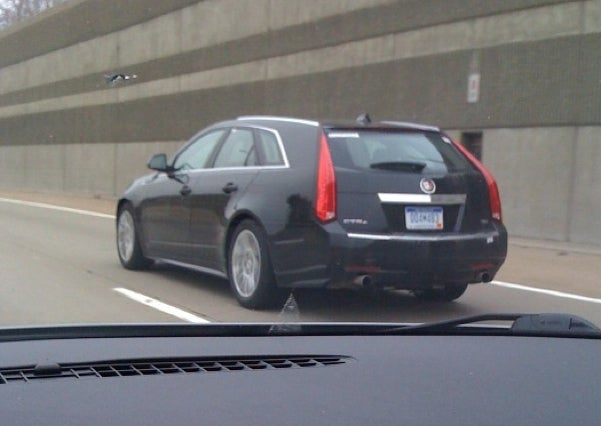 Cadillac CTS Sport Wagon: Getting Tweaked For Your Pleasure